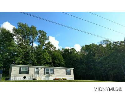Waterville NY Mobile Home For Sale: $92,000