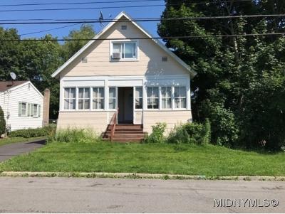 Oneida County Single Family Home For Sale: 502 Utica Road