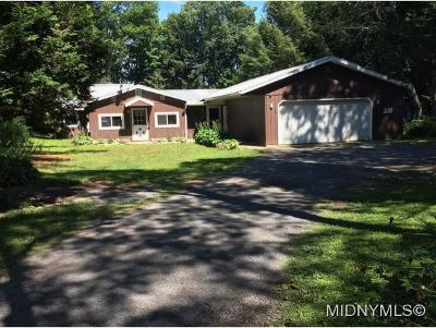REMSEN Single Family Home For Sale: 11278 O'brien Road