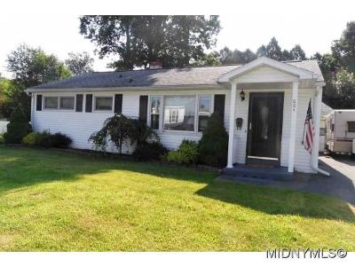 Oneida County Single Family Home For Sale: 604 Cosby Road
