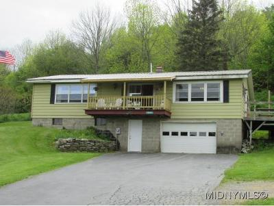 Bridgewater NY Single Family Home For Sale: $104,000