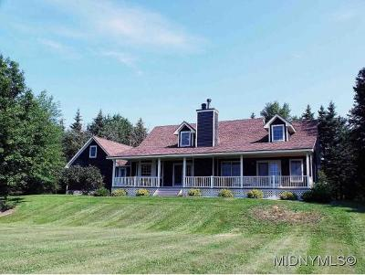 Oneida County Single Family Home For Sale: 11781 Bell Hill Road