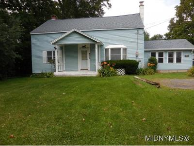 MARCY Single Family Home For Sale: 6285 Evans Rd