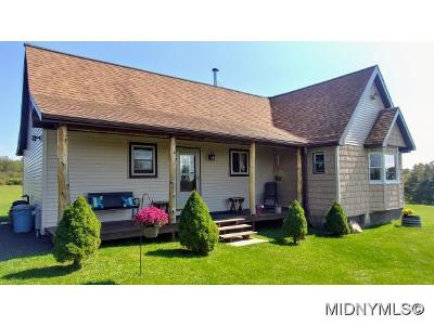 Herkimer County Single Family Home For Sale: 1398 Newport-Gray Rd