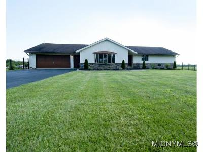 Herkimer County Single Family Home For Sale: 11402 Cosby Manor Road