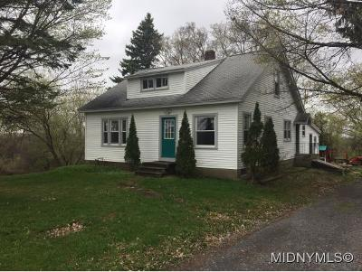 Clinton Single Family Home For Sale: 3561 State Route 12
