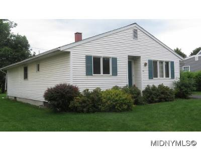 Oneida County Single Family Home For Sale: 1517 Madison Ave