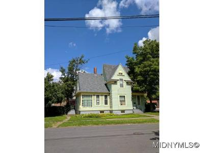 Utica Single Family Home For Sale: 47 Scott Street
