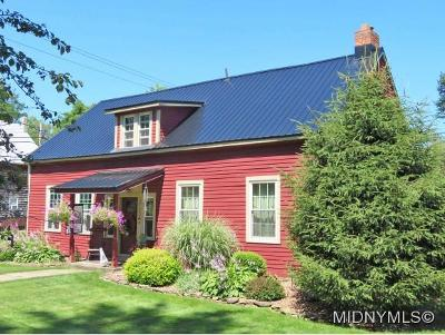 BARNEVELD Single Family Home For Sale: 114 Vanderkemp Avenue