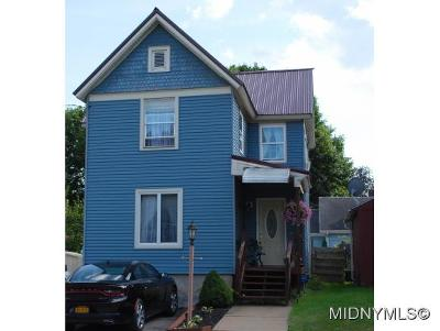 Herkimer County Single Family Home For Sale: 31 James Street