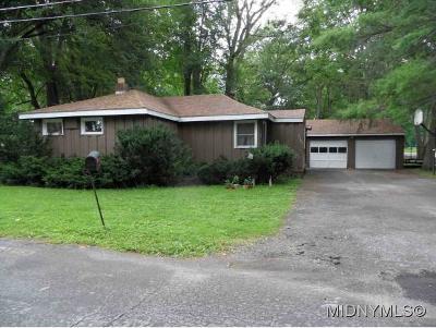 Sylvan Beach Single Family Home For Sale: 2397 McClanathan Ave