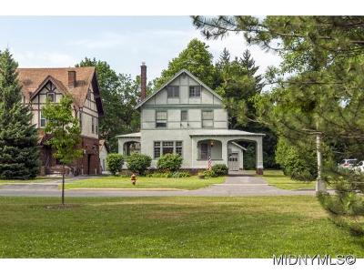 Utica Single Family Home For Sale: 114 Memorial Parkway