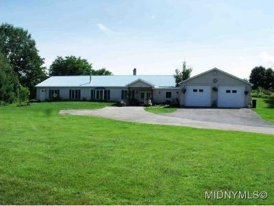 Herkimer County Single Family Home For Sale: 602 Rose Valley Road