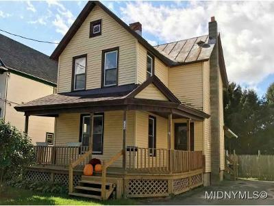 Herkimer County Single Family Home For Sale: 209 Harter Street