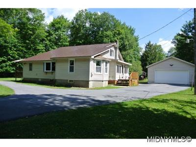 Herkimer County Single Family Home For Sale: 156 Big Moose Road