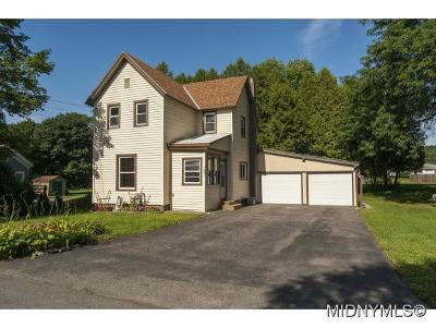 Herkimer County Single Family Home For Sale: 1091 East German Street Ext.