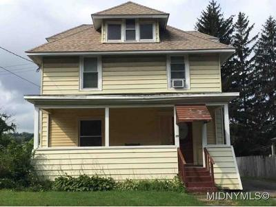 Utica Single Family Home For Sale: 29 Richardson Ave