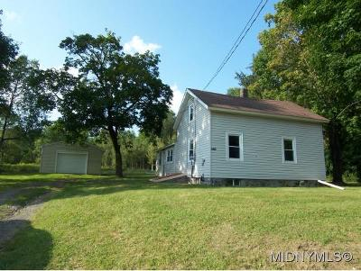 Oneida County Single Family Home For Sale: 7729 Watson Hollow Road