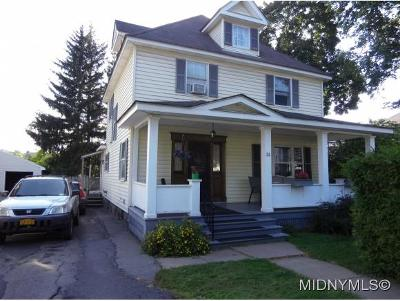 Oneida County Single Family Home For Sale: 31 Richardson Ave
