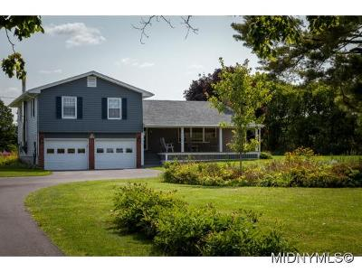 WEST WINFIELD Single Family Home For Sale: 8870 State Route 51