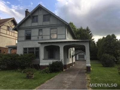 Oneida County Single Family Home For Sale: 114 Memorial Parkway