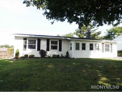Utica Single Family Home For Sale: 443 Keyes Road