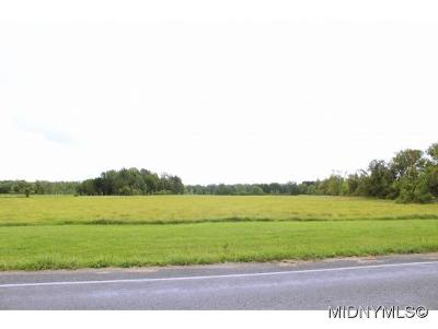 Rome Residential Lots & Land For Sale: Coleman Mills & Rome-Oriskany Road