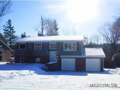 Utica Single Family Home For Sale: 43 Nob Road