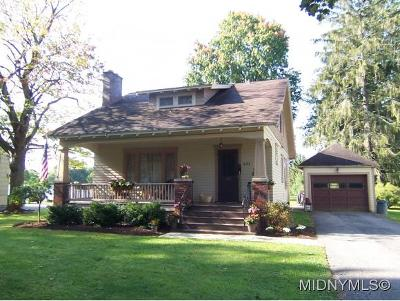 SHERRILL Single Family Home For Sale: 621 West Hamilton Avenue