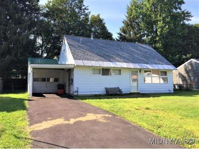Utica Single Family Home For Sale: 417 Van Roen Rd