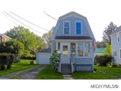 New York Mills Single Family Home For Sale: 10 Porter Street
