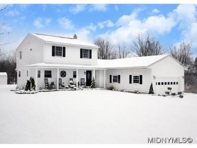 Oriskany Single Family Home For Sale: 6373 Reid Lane