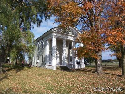 VERNON Single Family Home For Sale: 4263 Peterboro Road