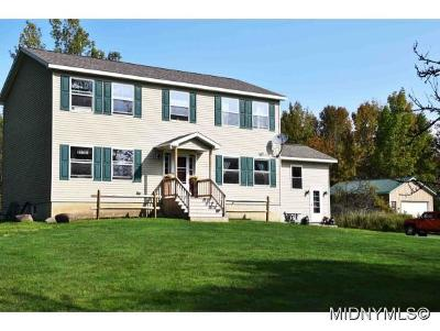 Holland Patent Single Family Home For Sale: 8525 Edwards Road