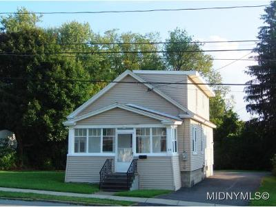 New York Mills Single Family Home For Sale: 64 Burrstone Road