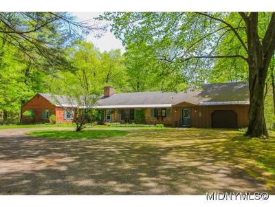 BARNEVELD Single Family Home For Sale: 634 Partridge Hill Road