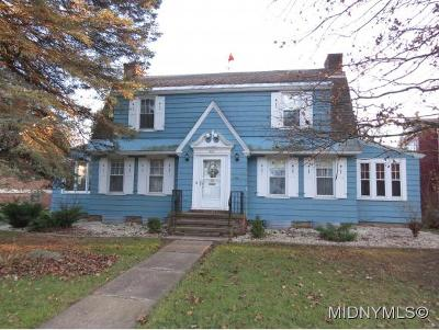 Herkimer County Single Family Home For Sale: 423 W. German Street
