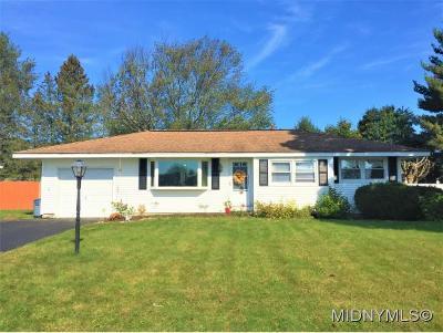 Rome Single Family Home For Sale: 135 Glen Rd S