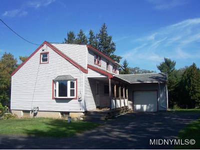 Rome Single Family Home For Sale: 6694 Rome-Westmoreland Rd.