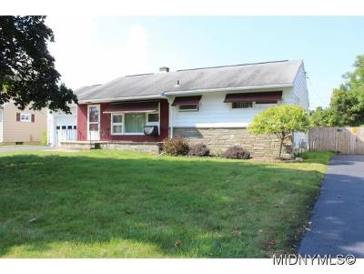 Oneida County Single Family Home For Sale: 1504 Gibson Road
