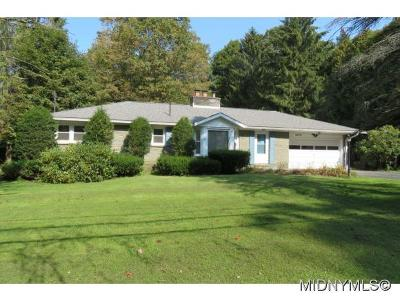 ROME Single Family Home For Sale: 6109 Sleepy Hollow Road