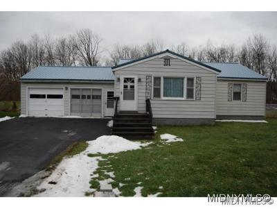 Clinton NY Single Family Home For Sale: $79,900