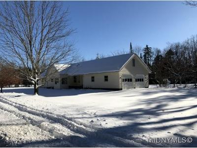 Single Family Home For Sale: 10768 North Lake Rd.