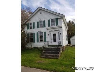 Barneveld NY Single Family Home For Sale: $59,900