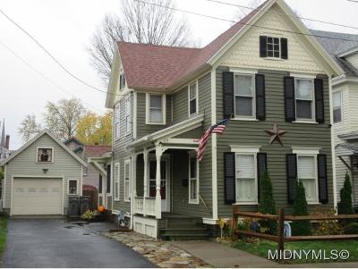 Rome Single Family Home For Sale: 115 Ft Stanwix Park