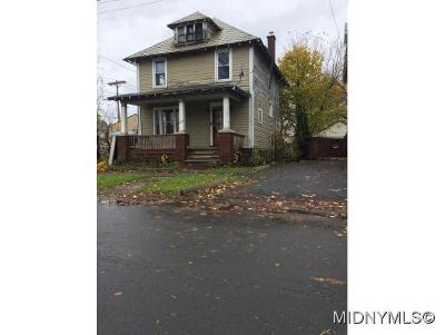 Oneida County Single Family Home For Sale: 1603 Seymour Avenue