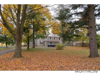 Deansboro Single Family Home For Sale: 2709 St Rt 315
