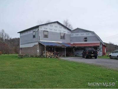 Herkimer County Single Family Home For Sale: 110 West End Road