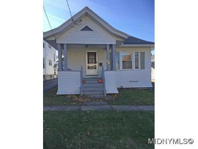 Utica Single Family Home For Sale: 66 Emerson Ave