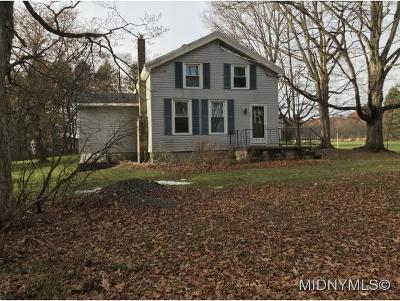 Herkimer County Single Family Home For Sale: 315 Brown Road